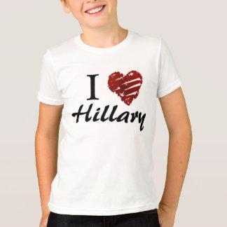 Amo a Hillary Playera
