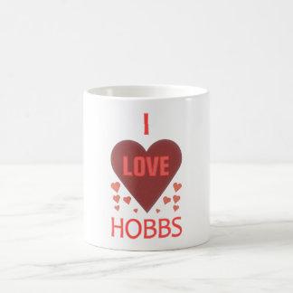 Amo a Hobbs nanómetro Taza De Café