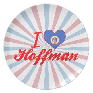 Amo a Hoffman, Minnesota Platos Para Fiestas