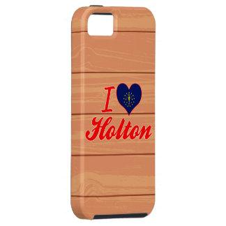 Amo a Holton, Indiana iPhone 5 Fundas