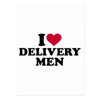 Amo a hombres de entrega postales