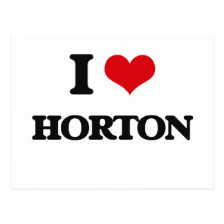 Amo a Horton Postales