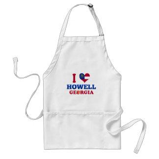 Amo a Howell, Georgia Delantal