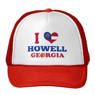 Amo a Howell, Georgia Gorras