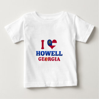 Amo a Howell, Georgia T Shirt