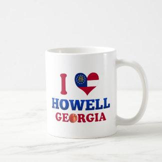 Amo a Howell, Georgia Taza Básica Blanca