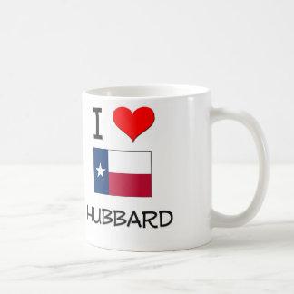 Amo a Hubbard Tejas Tazas De Café
