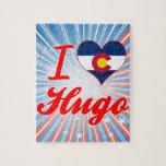 Amo a Hugo, Colorado Rompecabezas