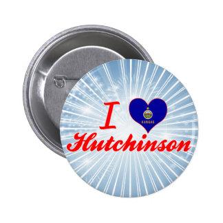 Amo a Hutchinson Kansas Pins