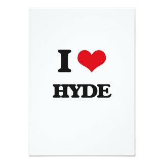 Amo a Hyde Invitación 12,7 X 17,8 Cm