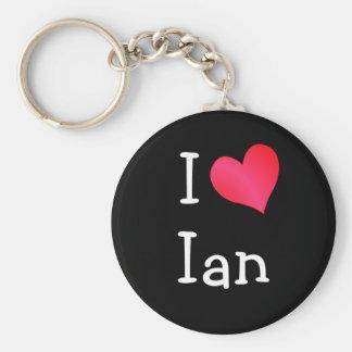 Amo a Ian Llavero Redondo Tipo Pin