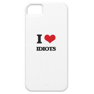 Amo a idiotas iPhone 5 Case-Mate carcasas