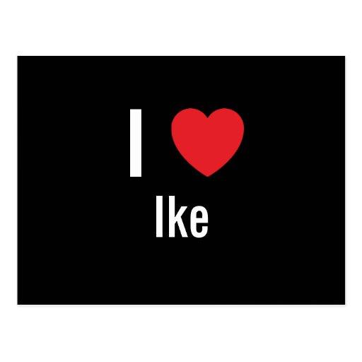 Amo a Ike Postal