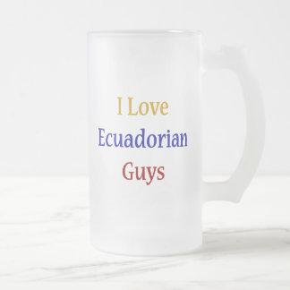 Amo a individuos del Ecuadorian Taza