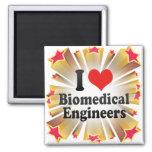 Amo a ingenieros biomédicos imán para frigorifico