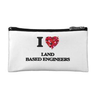 Amo a ingenieros cones base en tierra