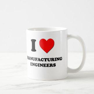 Amo a ingenieros de fabricación tazas de café