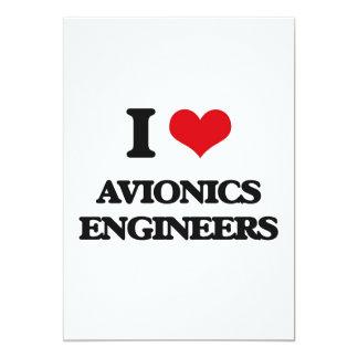 Amo a ingenieros de la aviónica anuncios personalizados
