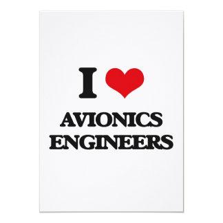 Amo a ingenieros de la aviónica invitación
