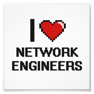 Amo a ingenieros de la red cojinete