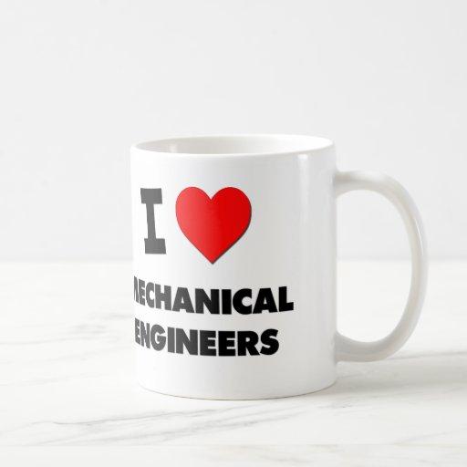 Amo a ingenieros industriales taza