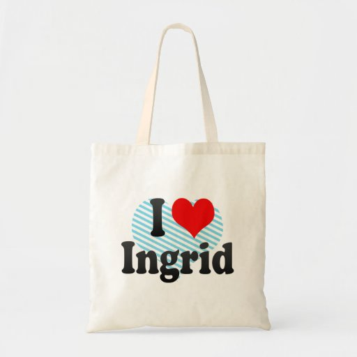 Amo a Ingrid Bolsa De Mano