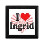 Amo a Ingrid Caja De Joyas