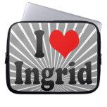 Amo a Ingrid Funda Computadora