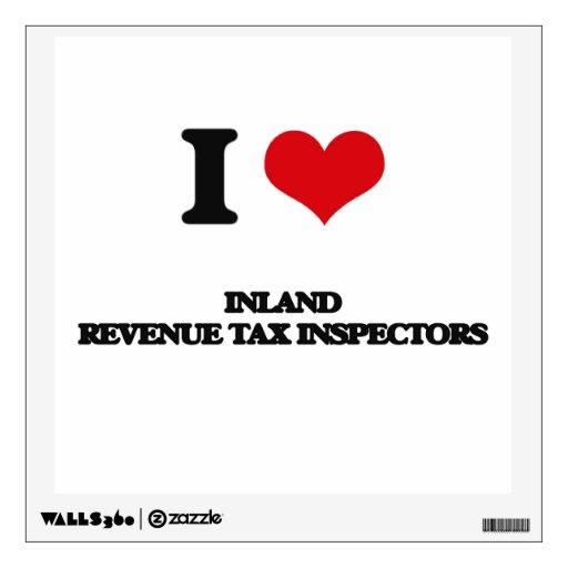 Amo a inspectores del impuesto de Hacienda pública