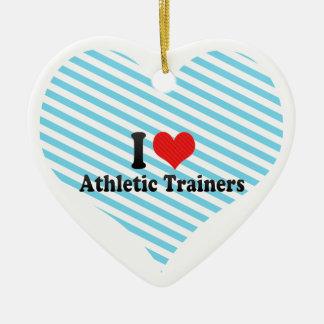 Amo a instructores atléticos adorno