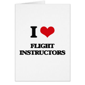 Amo a instructores del vuelo felicitacion