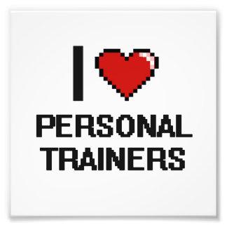 Amo a instructores personales cojinete
