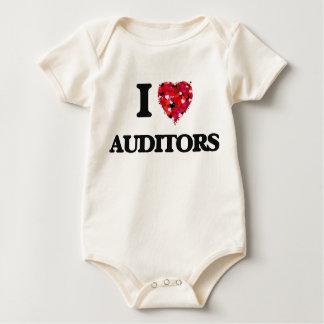 Amo a interventores trajes de bebé