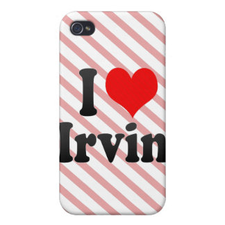 Amo a Irvin iPhone 4 Coberturas