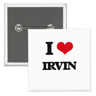 Amo a Irvin Chapa Cuadrada 5 Cm