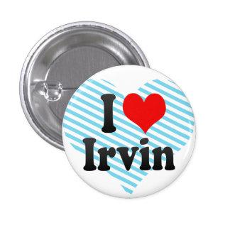 Amo a Irvin Pins