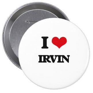 Amo a Irvin Chapa Redonda 10 Cm