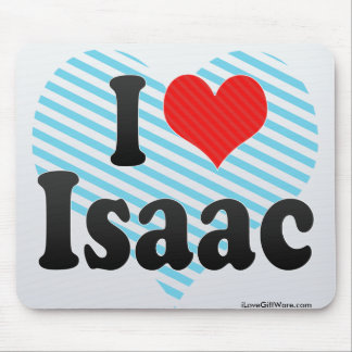 Amo a Isaac Tapetes De Raton