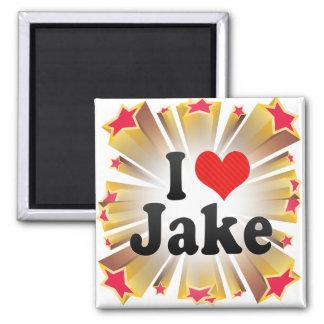 Amo a Jake Imanes Para Frigoríficos