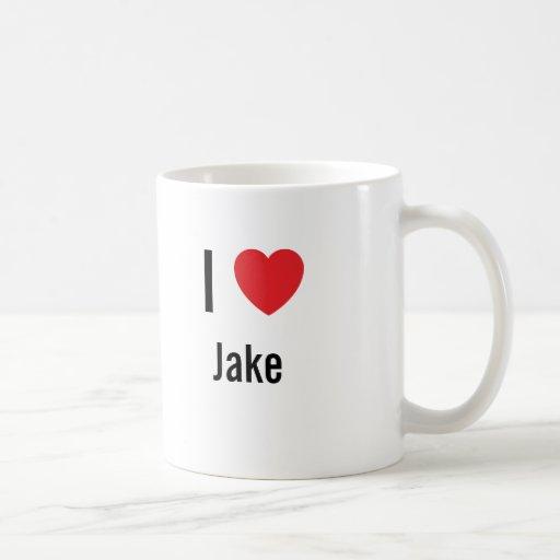 Amo a Jake Taza De Café