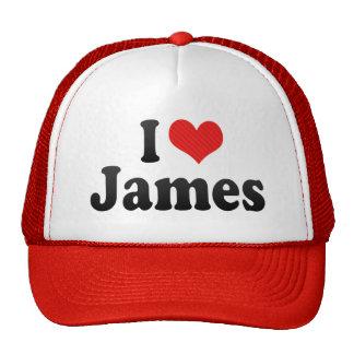 Amo a James Gorros Bordados