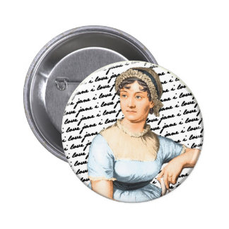 Amo a Jane Austen Pin Redondo 5 Cm