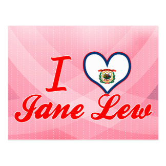 Amo a Jane Lew, Virginia Occidental Postal