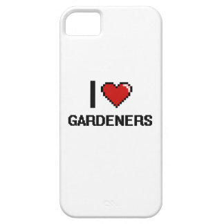 Amo a jardineros funda para iPhone 5 barely there