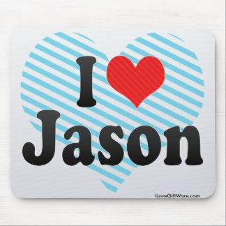 Amo a Jason Alfombrilla De Raton