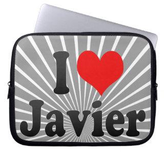 Amo a Javier Funda Computadora