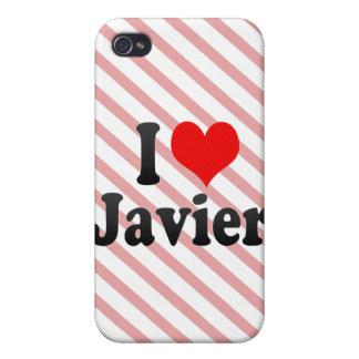 Amo a Javier iPhone 4 Cárcasa