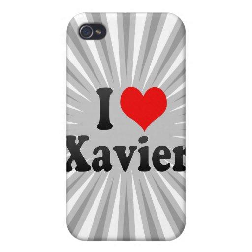 Amo a Javier iPhone 4 Fundas
