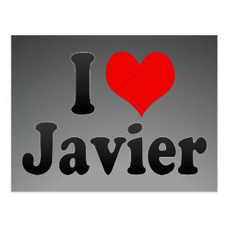 Amo a Javier Postales