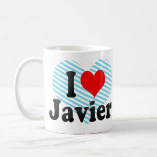 Amo a Javier Taza De Café